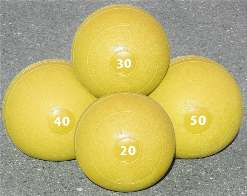 Slam Balls as Training Gear for Endurance Athletes