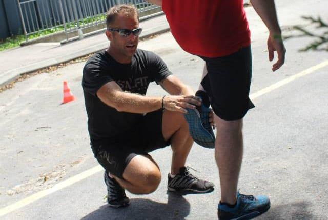 Jeff Grant Coaching Running Technique