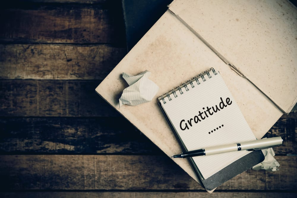 Gratitude Quick Practice: Write an Acknowledgements List