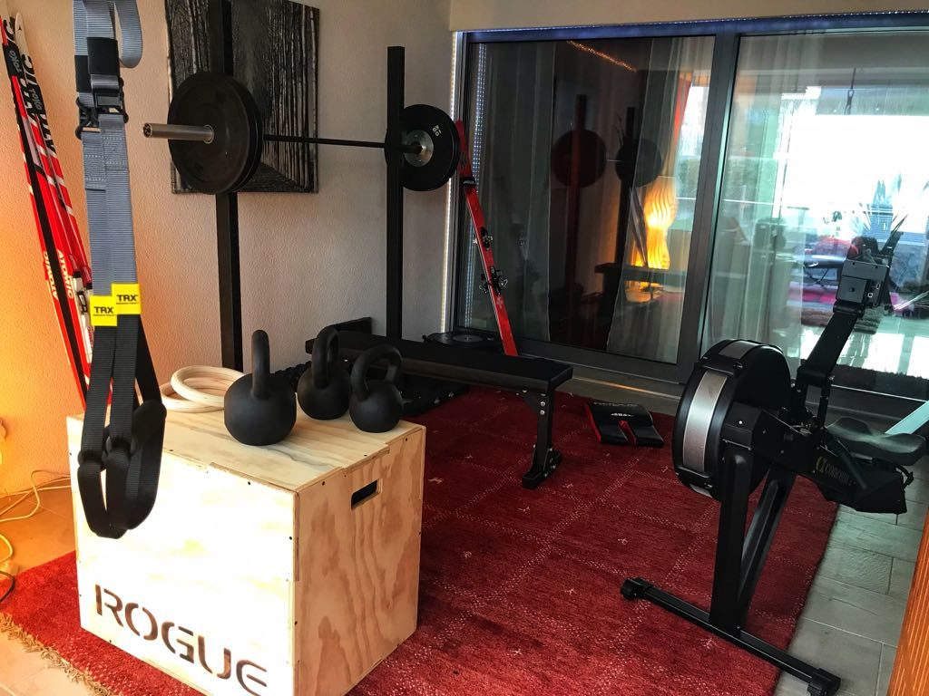 Diy crossfit garage gym part