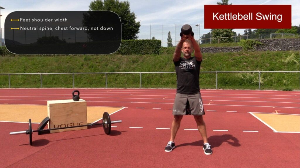 Coach Jeff Grant Kettlebell Swings