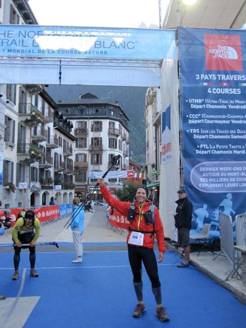 Jeff Grant UTMB Finish