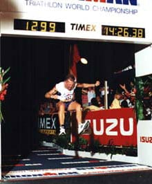 Jeff Grant Ironman Finish