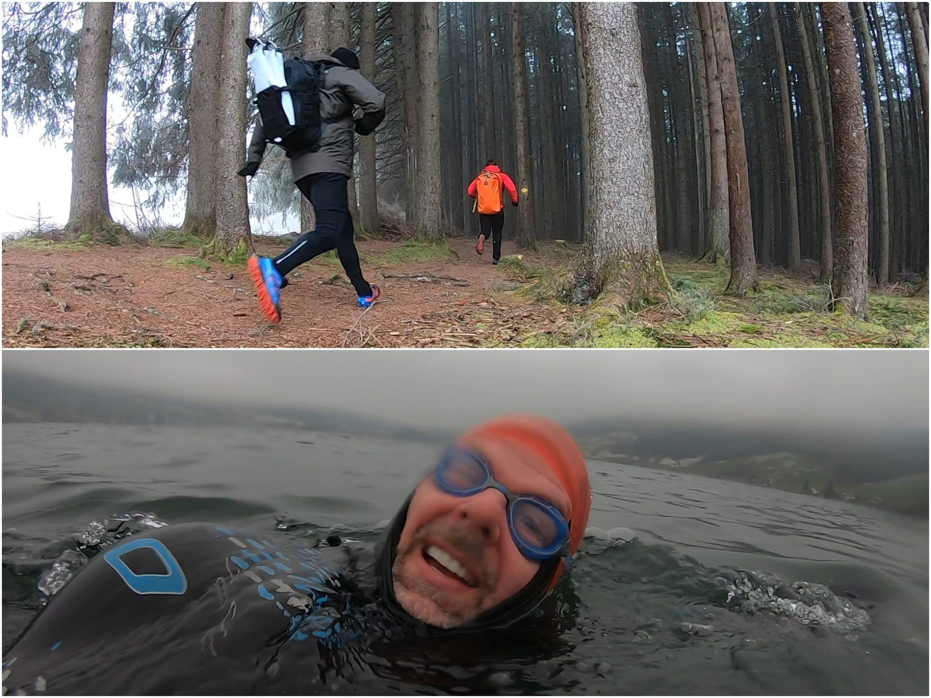 Jeff Grant Winter Swimrun Switzerland