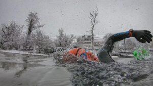 Snow Swim